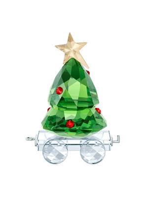 Figurina First Step - Christmas tree wagon